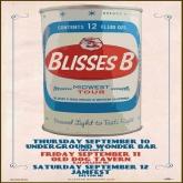 blisses b, tour