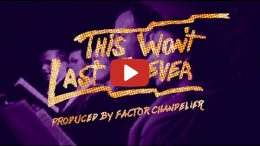 Ceschi - This Won't Last Forever (OFFICIAL MUSIC VIDEO)